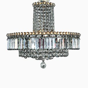 Ceiling Lamp with Swarovski Crystals, 1950s