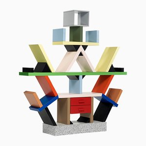 Carlton Bookcase by Ettore Sottsass for Memphis, 1980s