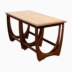 Table Basse avec Tables Gigognes par Victor Wilkins pour G-Plan, 1960s