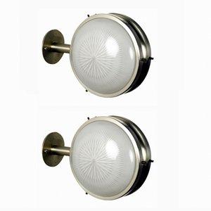 Gamma Wandlampen von Sergio Mazza für Artemide, 1960er, 2er Set