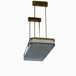Monumental Ceiling Lamp by Hans Poelzig for IG Farben, 1940s
