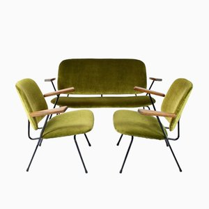 Vintage Living Room Set by Wilem Hendrik Gispen for Kembo