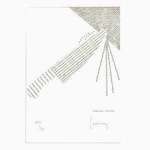 Concrete Poetry Ed. 230 par Domenico Cerroni Cadoresi pour Panderma, 1977