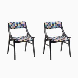 Vintage Skoczek Chairs by Juliusz Kędziorek for Zamojska Fabryka Mebli, Set of 2