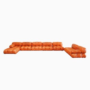 Camaleonda Modular Leather Sofa by Mario Bellini for C&B Italia, 1960s