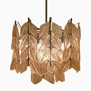 Pendant Light with Leaves from Kalmar, 1950s