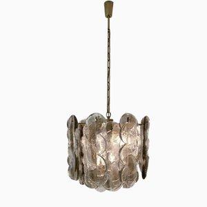 Lámpara colgante vintage de J. T. Kalmar para Mazzega