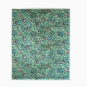 Deutscher Pandra Teppich aus Wolle von Vorwerk, 1960er