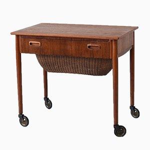 Tavolino e scatola da cucito, Danimarca, anni '60