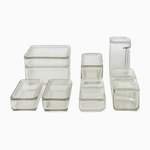 Vintage German Storage Set by Wilhelm Wagenfeld for Kubus