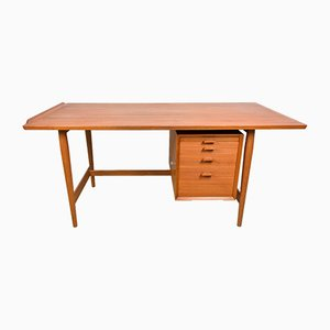 Mid-Century Teak Desk by Arne Vodder for Sibast, 1960s