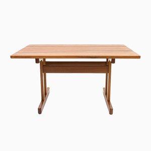 Tavolo da pranzo in teak di Kurt Østervig per KP Møbler, anni '60