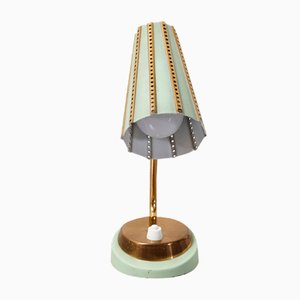 Small Brass Table Lamp, 1970s