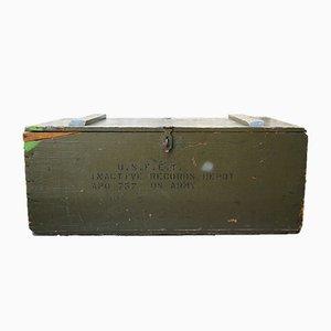 Amerikanische Militär Holzbox von The Roeser Co., 1940er
