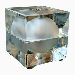 Cubosfera Glass Lamp by Alessandro Mendini for Fidenza Vetraria, 1968
