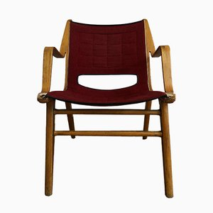 AX Lounge Chair by Peter Hvidt & Orla Mølgaard-Nielsen for Fritz Hansen, 1950s