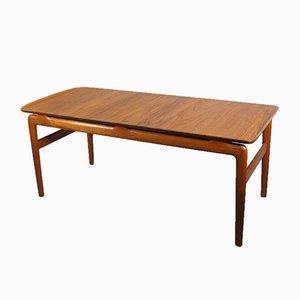 Table Basse en Teck par Peter Hvidt & Orla Mølgaard-Nielsen