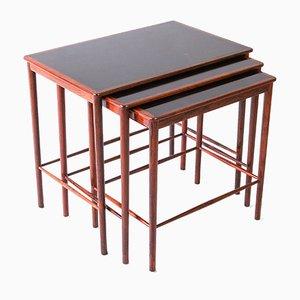 Tables Gigognes par Grete Jalk pour Poul Jeppesens Møbelfabrik, 1960s