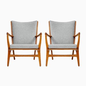 AP-16 Chairs by Hans Wegner for A.P. Stolen, 1952, Set of 2