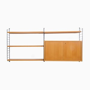 Vintage Shelving System by Kajsa & Nisse Strinning for String
