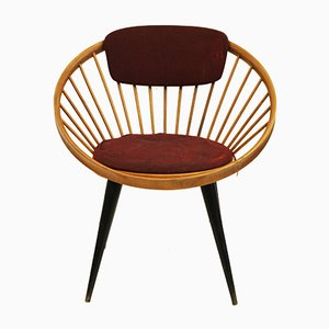 Circle Chair von Yngve Ekström, 1950er