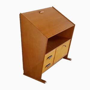Asymmetrical Secretaire from C. Den Boer Gouda, 1950s