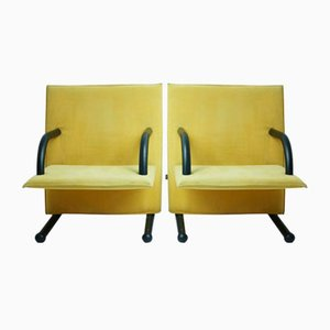 T-Line Armchairs by Burkhard Vogtherr for Arflex, 1984, Set of 2