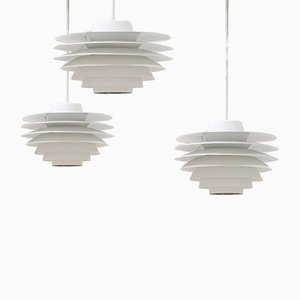 Vintage Verona Pendant Light by Sven Middelboe for Nordisk Solar
