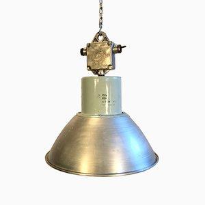 Industrial Aluminium Pendant Light, 1960s