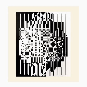 Stampa Syrom di Victor Vasarely per Denise René, 1975