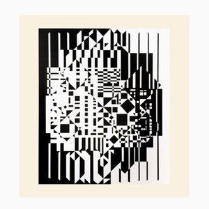 Syrom Druck von Victor Vasarely für Denise René, 1975