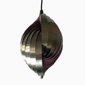 Lámpara colgante danesa de Louis Weisdorf para Lyfa, años 60