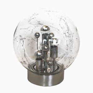 Sputnik Bubble Glass Table Lamp from Doria Leuchten, 1970s