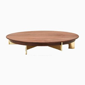 Large Walnut T4 Cake Stand by Grace Souky