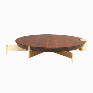 Medium Walnut T4 Cake Stand by Grace Souky