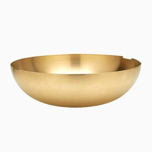 Large Brass C1 Bowl by Grace Souky