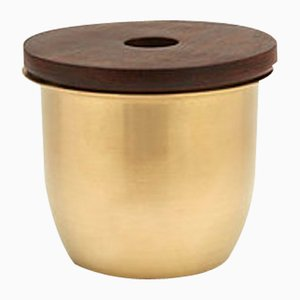Small Brass C3 Container by Grace Souky