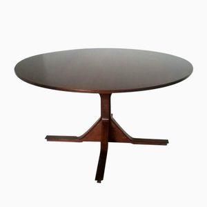 Runder Vintage Esstisch von Gianfranco Frattini für Bernini
