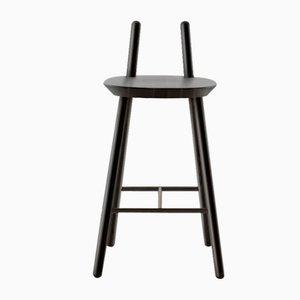 Schwarzer Naïve Semi Bar Chair von etc.etc. für Emko