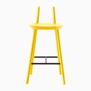 Gelber Naïve Semi Bar Chair von etc.etc. für Emko