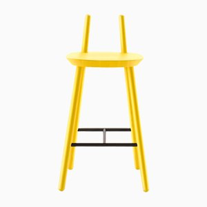 Yellow Naïve Semi Bar Chair by etc.etc. for Emko