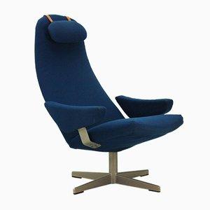 Mid-Century Contourette Roto Lounge Chair by Alf Svensson for Dux