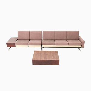 Mid-Century Modell Pluraform Modern Sofas mit Wenge Couchtische von Rolf Benz, 1964