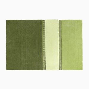 Alfombra Lietuva en verde de Why Not para Emko