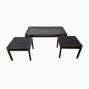 Side Tables by Pierre Vandel, 1970s, Set of 3