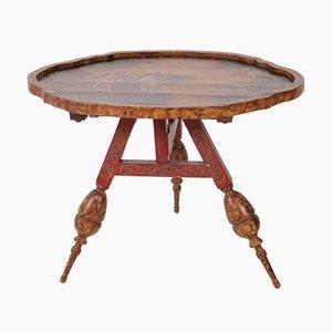 Antiker niederlänischer provinzieller Tisch mit Klappe, 1900er
