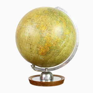 Mapamundi Mid-Century de Globus, años 60