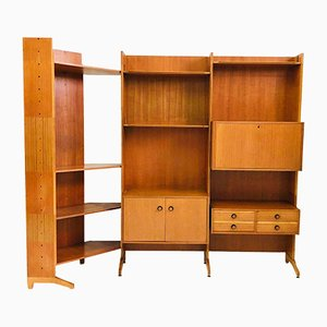 Italian Modular Bookcase, 1960s