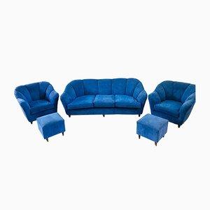 Italienisches 3-Sitzer Sofa von Guglielmo Ulrich für Saffa, 1950er
