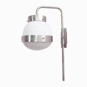 Lampada da parete Delta regolabile di Sergio Mazza per Artemide, anni '60